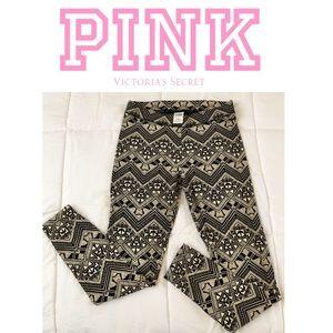 VS PINK tribal leggings